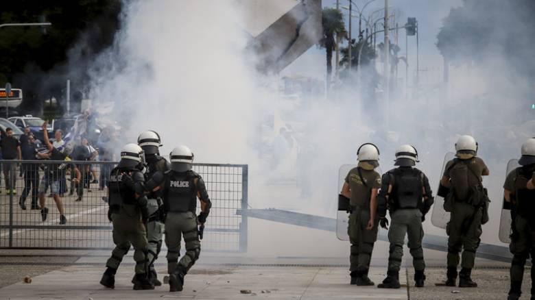 Θεσσαλονίκη: Επεισόδια έξω από την εκδήλωση του ΣΥΡΙΖΑ για το Σκοπιανό