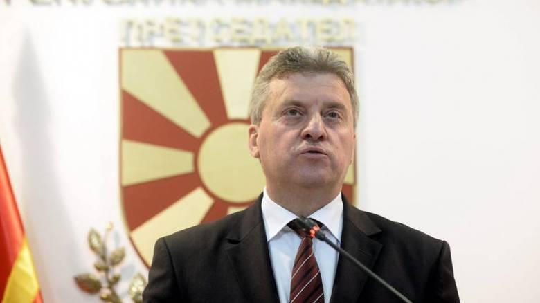 πΓΔΜ: Δεν υπογράφει τη συμφωνία για το ονοματολογικό ο Ιβάνοφ