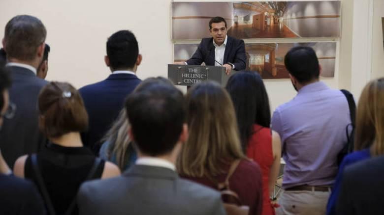 Επαφές Τσίπρα με οικονομικούς παράγοντες στο Λονδίνο