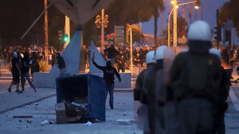 Ελεύθεροι οι πέντε συλληφθέντες για τα σοβαρά επεισόδια στη Θεσσαλονίκη
