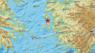 Σεισμός 4,5 Ρίχτερ νότια της Μυτιλήνης
