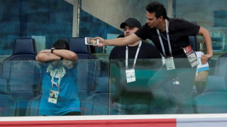 Παγκόσμιο Κύπελλο 2018: Σε θλιβερή κατάσταση ο Μαραντόνα μετά το ματς της Αργεντινής