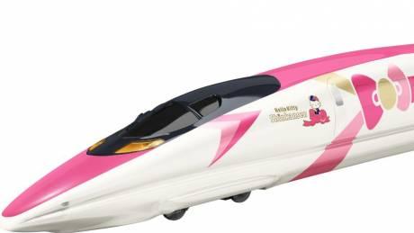 Hello Kitty: Ένα bullet train γεμάτο αναμνήσεις