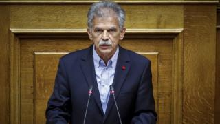 Δανέλλης: «Πλάτη» στην κυβέρνηση αν χρειαστεί