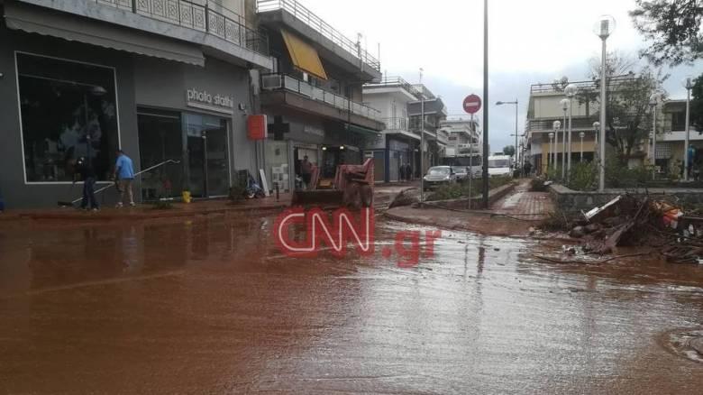 Κακοκαιρία: Ποιοι δρόμοι παραμένουν κλειστοί λόγω βροχοπτώσεων