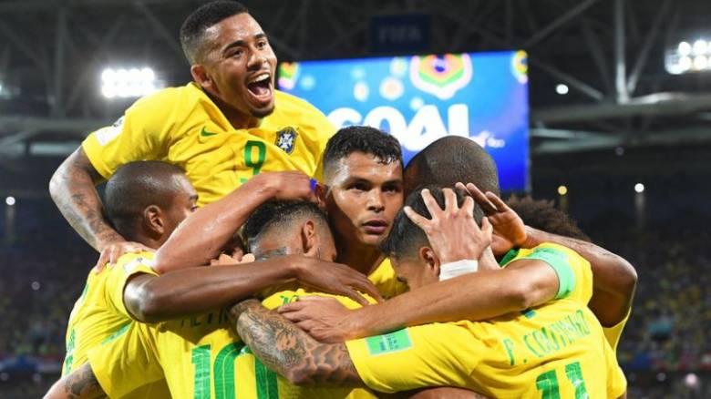 Παγκόσμιο Κύπελλο Ποδοσφαίρου 2018: Με άνεση στους «16» η Βραζιλία