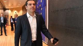 Στις Βρυξέλλες για τη συνεδρίαση του Ευρωπαϊκού Συμβουλίου ο Τσίπρας