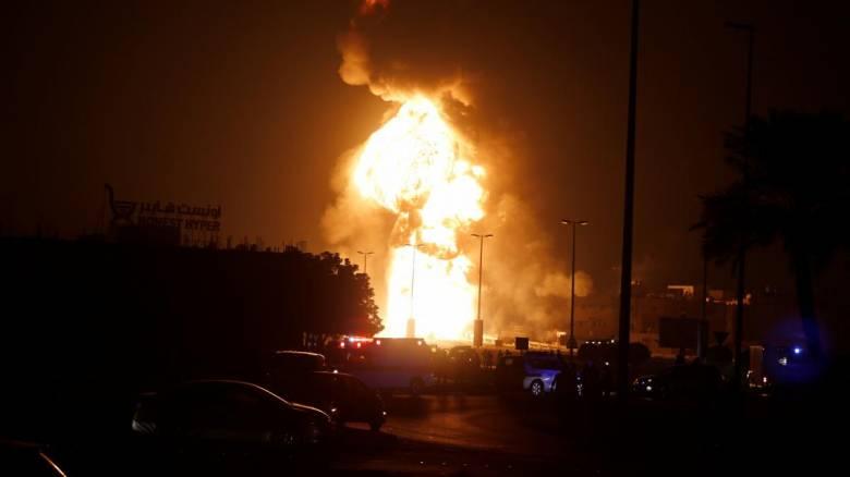 Ιράν: Μεγάλη φωτιά σε διυλιστήριο στην πόλη Αμπαντάν με έξι τραυματίες