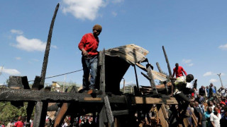 Φόβοι για πολλούς νεκρούς και τραυματίες σε μεγάλη πυρκαγιά σε αγορά της Κένυας