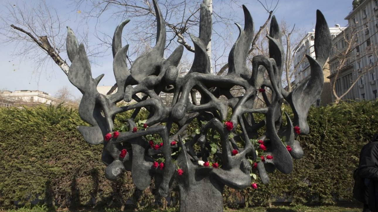Άγνωστοι βεβήλωσαν το Μνημείο του Ολοκαυτώματος στη Θεσσαλονίκη