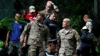 Ταϊλάνδη: Αγωνία για την τύχη 12 παιδιών που είναι εγκλωβισμένα σε πλημμυρισμένη σπηλιά