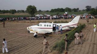 Συντριβή μικρού αεροσκάφους σε κατοικημένη περιοχή της Ινδίας