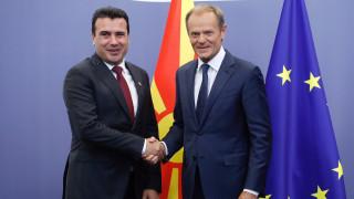 Τουσκ: Επικυρώστε την απόφαση για τις ενταξιακές διαπραγματεύσεις με πΓΔΜ και Αλβανία