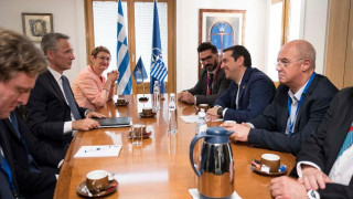 Οι δύο Έλληνες στρατιωτικοί στο επίκεντρο της συνάντησης Τσίπρα-Στόλτενμπεργκ