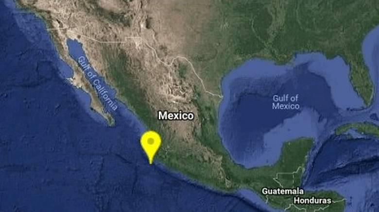 Σεισμική δόνηση στο Μεξικό