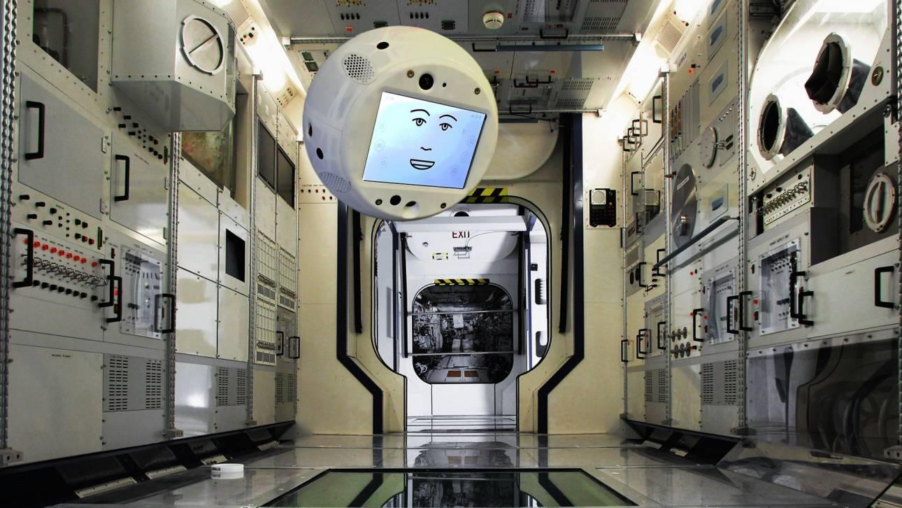 Cimon: Το αιωρούμενο «έξυπνο» ρομπότ που «ταξιδεύει» στο διάστημα