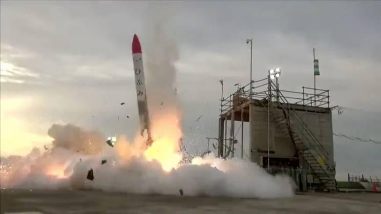 Ιαπωνία: Έκρηξη πυραύλου λίγο μετά την εκτόξευσή του