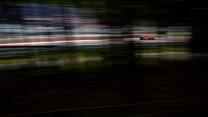 Ο γερμανός οδηγός της Formula 1, Sebastian Vettel, της Ferrari σε δράση κατά τη διάρκεια της δεύτερης προπόνησης του Grand Prix της Αυστρίας στο γήπεδο Red Bull Ring στο Spielberg της Αυστρίας στις 29 Ιουνίου 2018.