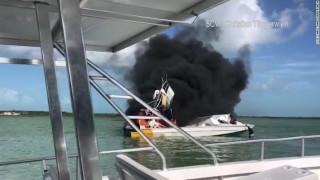 Εφιάλτης εν πλω: Ένας νεκρός από έκρηξη σε βάρκα στις Μπαχάμες
