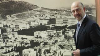 Σημαντικές επαφές Μοσκοβισί την Τρίτη στην Αθήνα