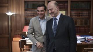 Μοσκοβισί σε Τσίπρα: Τώρα η Ελλάδα είναι μια κανονική χώρα