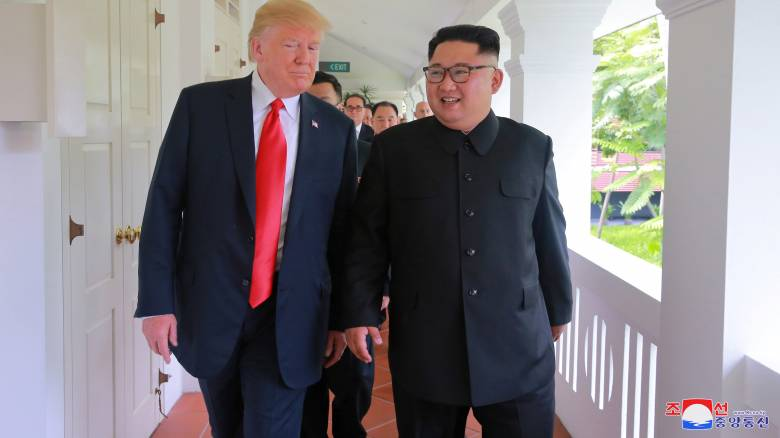 Τραμπ: Πολύ καλές οι συνομιλίες με τη Βόρεια Κορέα