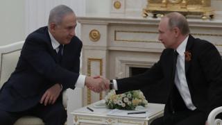 Στη Μόσχα ο Νετανιάχου για συνάντηση με τον Πούτιν