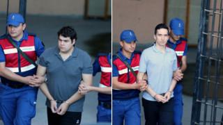Στην Τουρκία Ευρωπαίοι δικηγόροι για τους δύο Έλληνες στρατιωτικούς