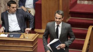 Βουλή: Άγρια κόντρα Τσίπρα-Μητσοτάκη με εκατέρωθεν προσωπικές επιθέσεις