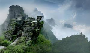 Το όρος Φάντζινγκσαν στην Κίνα