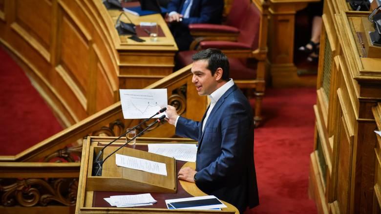 Τσίπρας: Ο Μητσοτάκης λέει ότι nationality σημαίνει εθνότητα, βγάλτε όλοι τις ταυτότητές σας