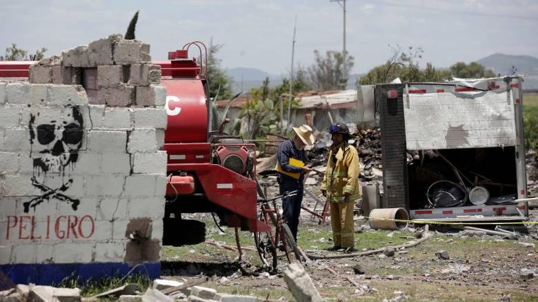 Μεξικό: Έκρηξη σε αποθήκη πυροτεχνημάτων – Τουλάχιστον 16 νεκροί