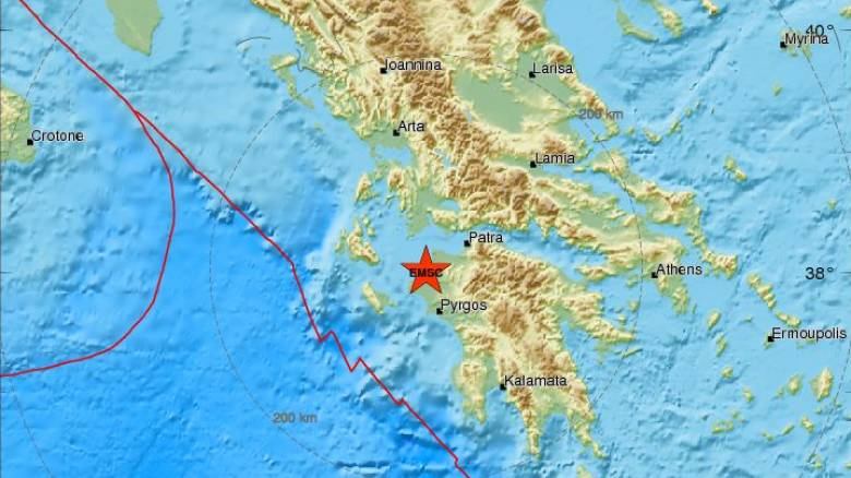 Σεισμός ΤΩΡΑ κοντά στην Κυλλήνη - Αισθητός σε αρκετές περιοχές (pics)