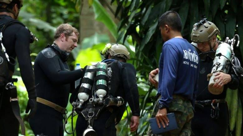 Ταϊλάνδη: Δύτης έχασε τη ζωή του στην επιχείρηση διάσωσης των 13 εγκλωβισμένων