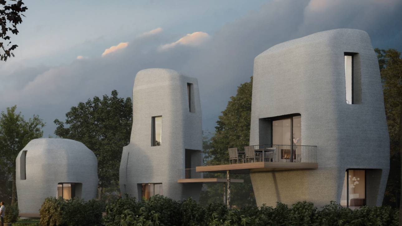 Ορόσημο τριών διαστάσεων: μέχρι το 2019 στην Ολλανδία τα πρώτα 3D εκτυπωμένα σπίτια