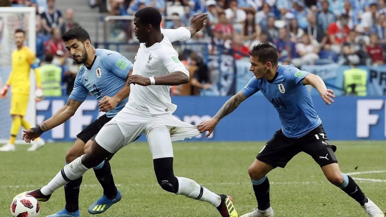 Παγκόσμιο Κύπελλο Ποδοσφαίρου 2018: Στον ημιτελικό η Γαλλία, 2-0 την Ουρουγουάη