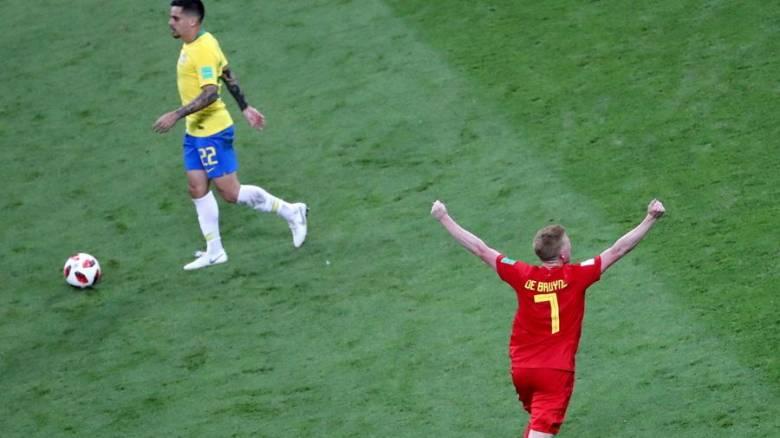 Παγκόσμιο Κύπελλο Ποδοσφαίρου 2018: Μυθικό Βέλγιο, 2-1 τη Βραζιλία!