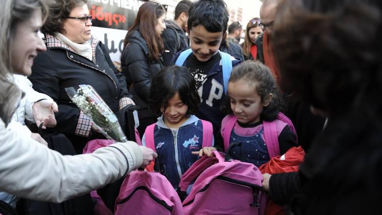 ΔΟΜ: 2.800 παιδιά προσφύγων και μεταναστών σε ελληνικά σχολεία