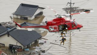 Ιαπωνία: Προειδοποιήσεις για νέα έκτακτα καιρικά φαινόμενα, ενώ αυξάνεται ο αριθμός των νεκρών