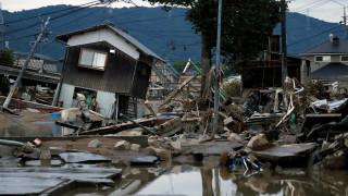 Ιαπωνία: Συνεχίζονται οι σφοδρές βροχοπτώσεις, αυξάνονται οι νεκροί