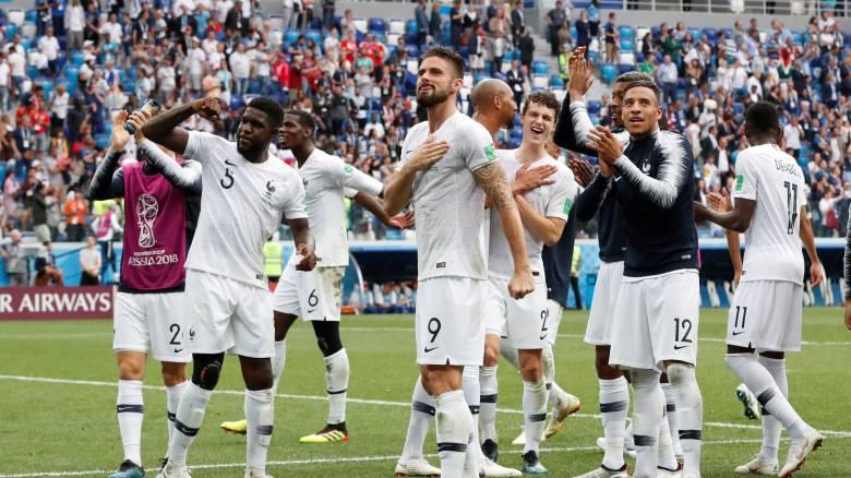 Παγκόσμιο Κύπελλο 2018: Ευρωπαϊκή κυριαρχία στα ημιτελικά