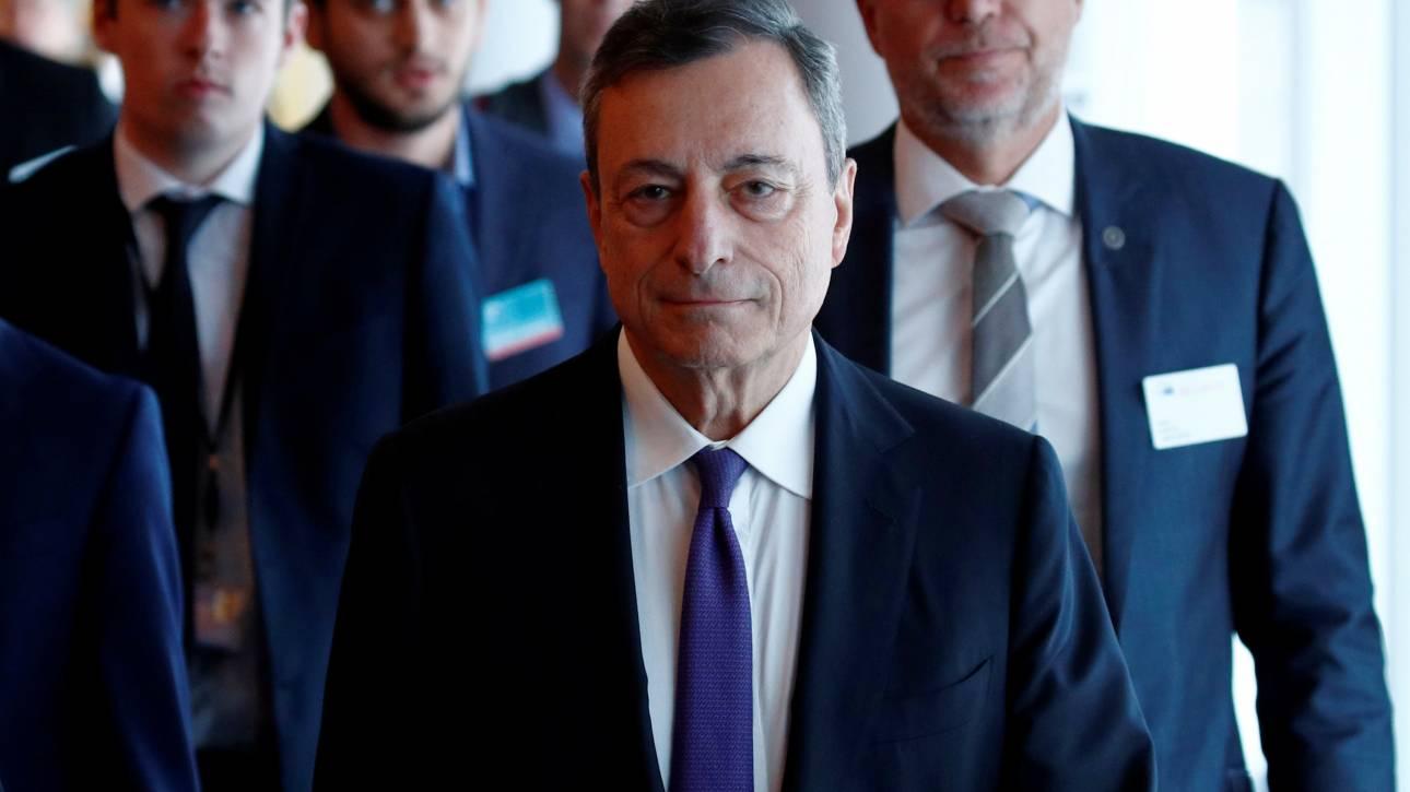 Προσγειώνει τις προσδοκίες για συμμετοχή της Ελλάδος στο QE o Μάριο Ντράγκι