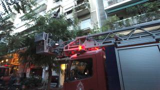 Πυρκαγιά σε διαμέρισμα στο κέντρο της Αθήνας - Απεγκλωβίστηκαν δύο άτομα