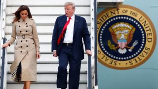Στις Βρυξέλλες ο Τραμπ για τη Σύνοδο Κορυφής του ΝΑΤΟ