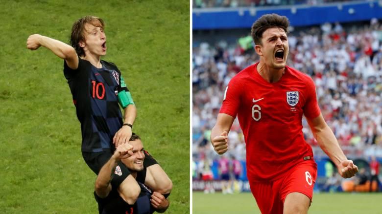 Παγκόσμιο Κύπελλο Ποδοσφαίρου 2018: Κροατία-Αγγλία για το δεύτερο «εισιτήριο» του τελικού