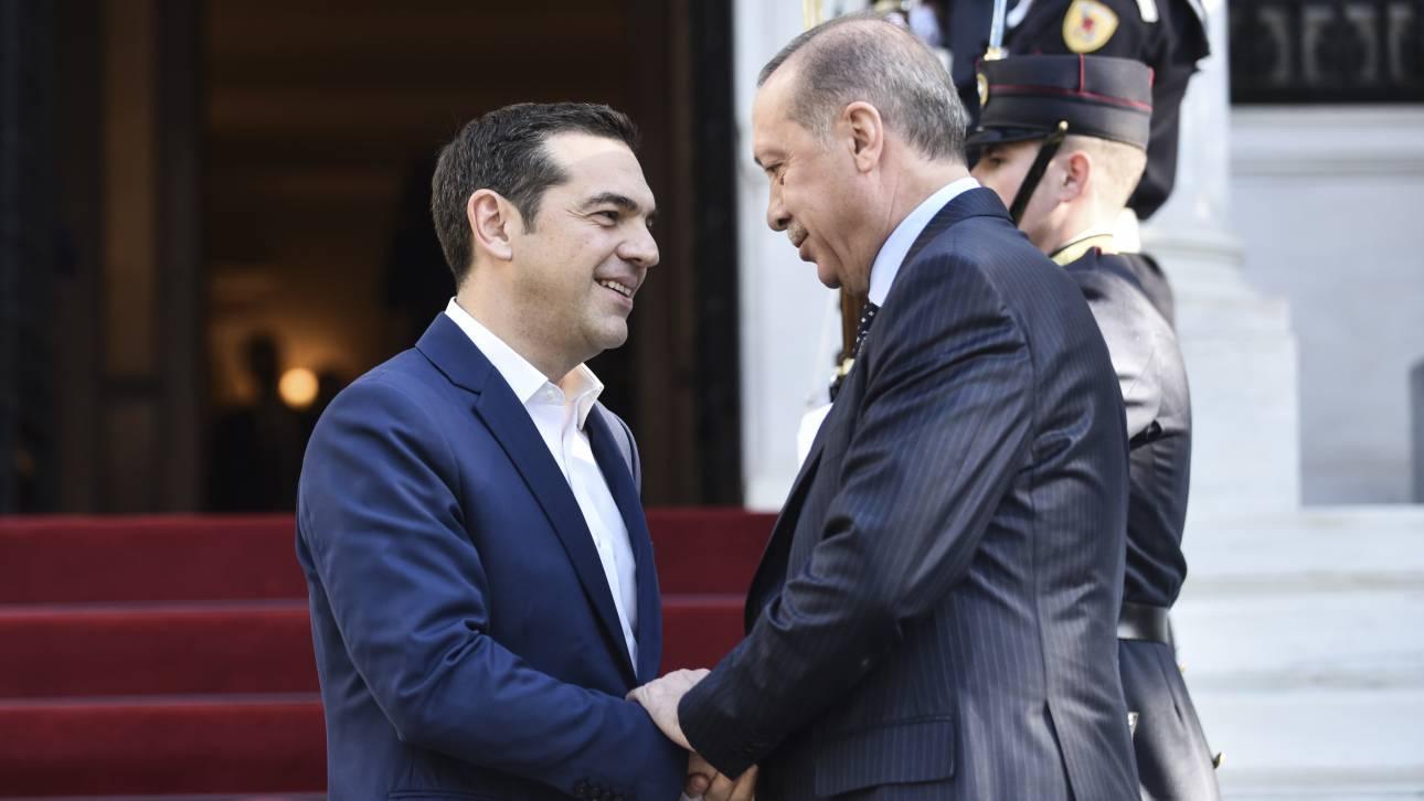 Οι δύο Έλληνες στρατιωτικοί στο επίκεντρο της συνάντησης Τσίπρα - Ερντογάν