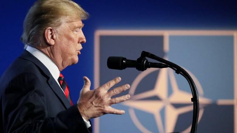 Τραμπ: Μπορώ να βγάλω τις ΗΠΑ από το ΝΑΤΟ αλλά δεν θα χρειαστεί τώρα
