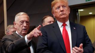 Τζιμ Μάτις: Η Ουάσινγκτον είναι 100% δεσμευμένη στο ΝΑΤΟ