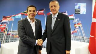 Ολοκληρώθηκε η συνάντηση Τσίπρα-Ερντογάν