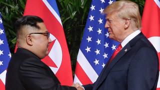 Στη δημοσιότητα έδωσε ο Τραμπ μια επιστολή του Κιμ Γιονγκ Ουν